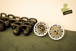 "Customized AB-wheels, ""landmines"", interior etc to local crossfit gym."